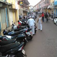 Scooters and motorcycles are the best way to get around Goa